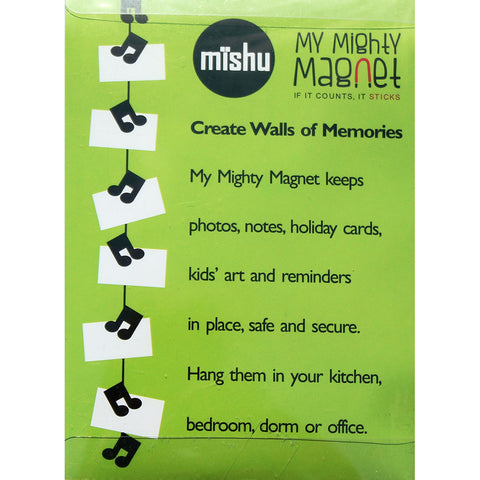 Music Notes  - My Mighty Magnet System - The simple and creative way to display pictures, cards or whatever matters to you using super strong Mighty Magnets.