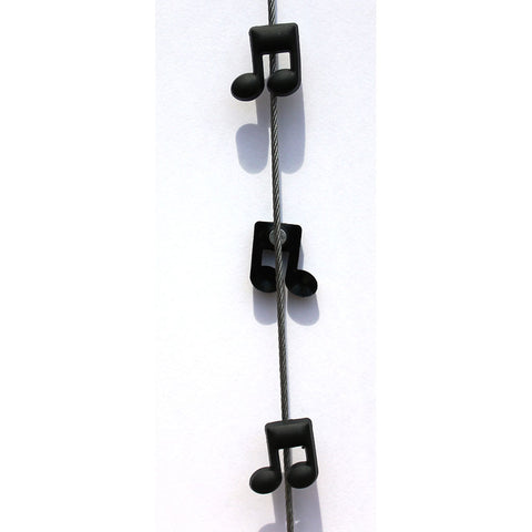 Image of Music Notes  - My Mighty Magnet System - The simple and creative way to display pictures, cards or whatever matters to you using super strong Mighty Magnets.