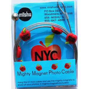 Big Apple NYC My Mighty Magnet System - The simple and creative way to display pictures, cards or whatever matters to you using super strong Mighty Magnets.