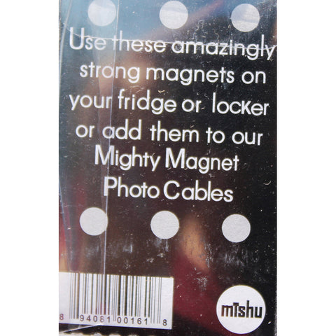 Plain Stud Extra Mighty Magnets - 6 Mighty Magnets per package