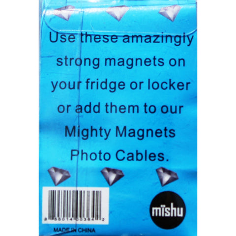 Purple Gem Extra Mighty Magnets - 6 Mighty Magnets per package