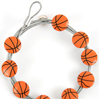 Image of Basketball - The simple and creative way to display pictures, cards or whatever matters to you using super strong Mighty Magnets.
