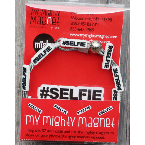 #SELFIE My Mighty Magnet System - The simple and creative way to display pictures, cards or whatever matters to you using super strong Mighty Magnets.