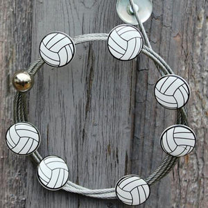 Volleyball  - The simple and creative way to display pictures, cards or whatever matters to you using super strong Mighty Magnets.