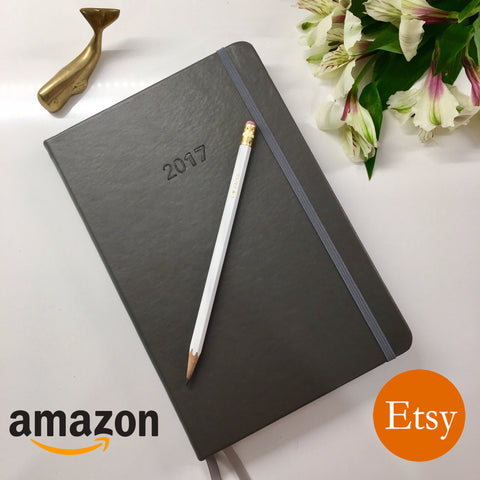 2017 UPstudio Planner available on both Amazon and Etsy!