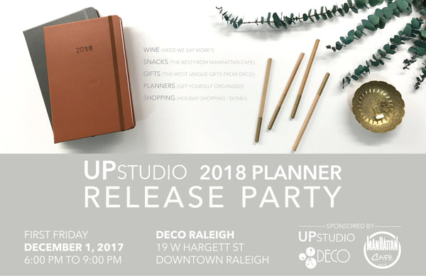 2018 UPstudio Planner Release Party
