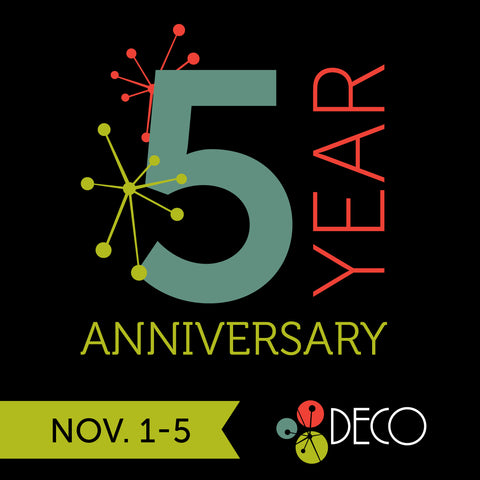 DECO is turning 5!