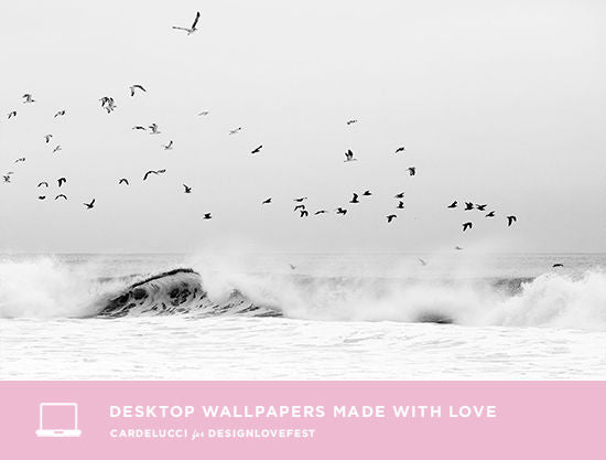 Desktop Wallpaper made with love by Cardelucci for DESIGNLOVEFEST