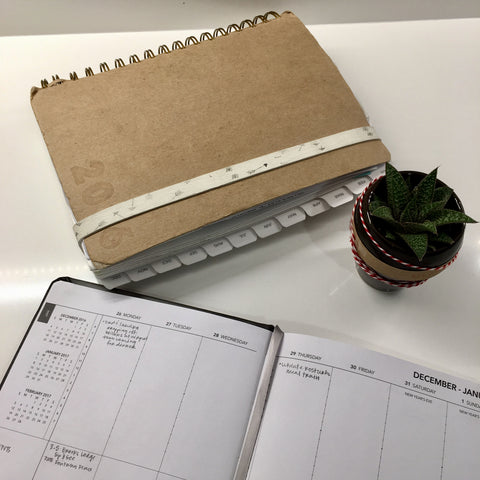 First Week of the 2017 UPstudio Planner