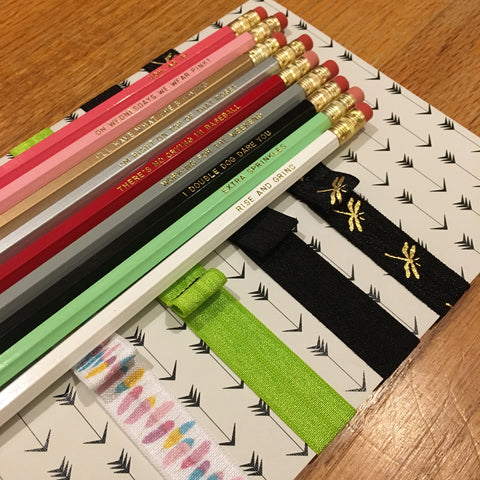 Free Pencil and Notebook Elastic with Journal Purchase - UPstudio