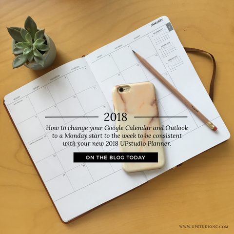 How to Change your Google Calendar and Outlook to a Monday start to the week