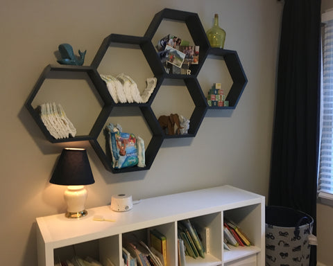 UPstudio - DIY Honeycomb Shelf