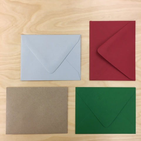 UPstudio Envelope Color Options