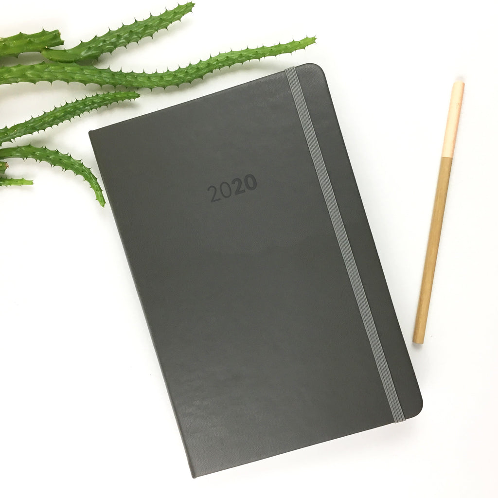 2020 UPstudio Weekly Planner - Gray Cover