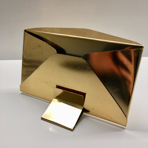 Vintage: Brass Envelope