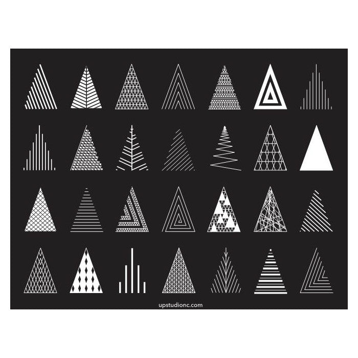 Christmas Cards - Trees (Single) - UPstudio
