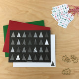 UPstudio Christmas Tree Card Styled