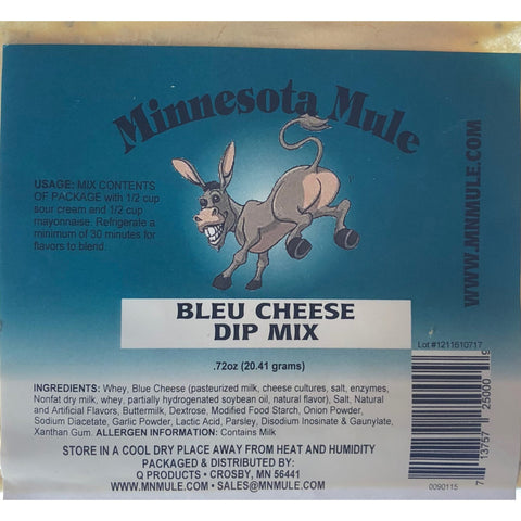 Bleu Cheese Dip Mix Minnesota Mule