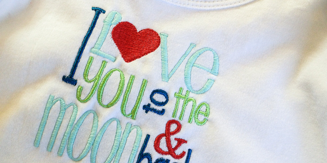 Personalize & embroidered onesies for babies with special sayings, names or monograms