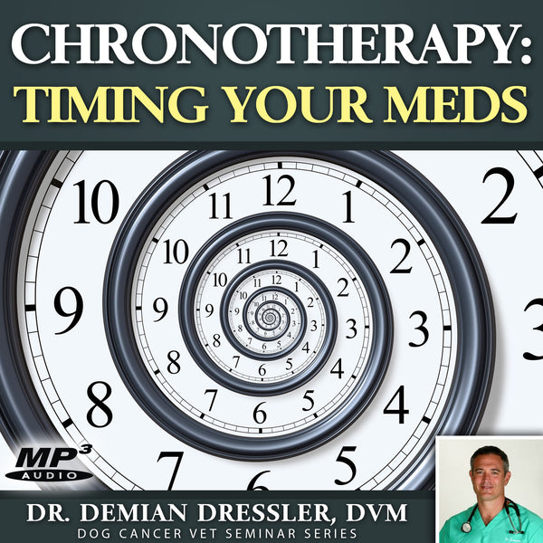 Chronotherapy: Timing Your Dog's Cancer Medication [MP3]