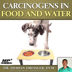 Carcinogens in Your Dog's Food and Water [MP3]