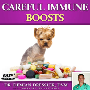 Careful Immune Boosts for Dogs with Cancer [MP3]