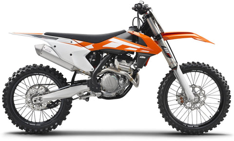 MotoTape - KTM 250/350/450 SXF With Stock Frame Guards