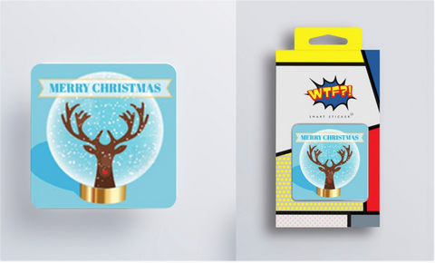 Smart Sticker Holds Phones, Tables, GPS and more - Merry Christmas