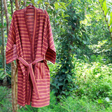 Berry Brown Robe - Kara Weaves  - 5