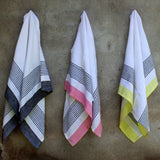 Bloc Stripe Kitchen Towels - Kara Weaves  - 3
