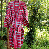Berry Brown Robe - Kara Weaves  - 3