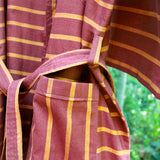 Berry Brown Robe - Kara Weaves  - 6