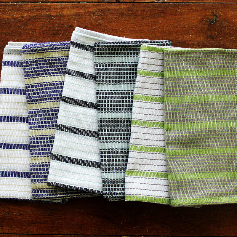 Urban Stripes Napkin - Kara Weaves  - 3