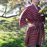 Berry Brown Robe - Kara Weaves  - 1