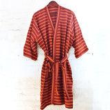 Berry Brown Robe - Kara Weaves  - 7