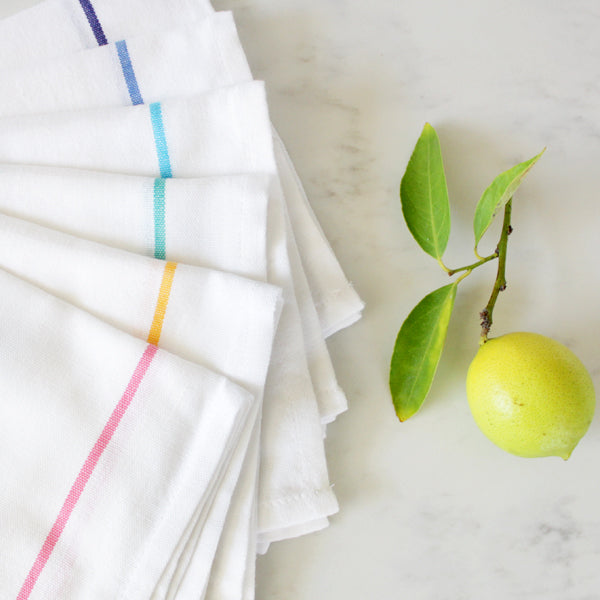 White Stripe Napkin