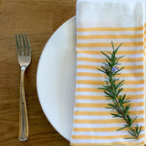 Quarter Stripe Napkins