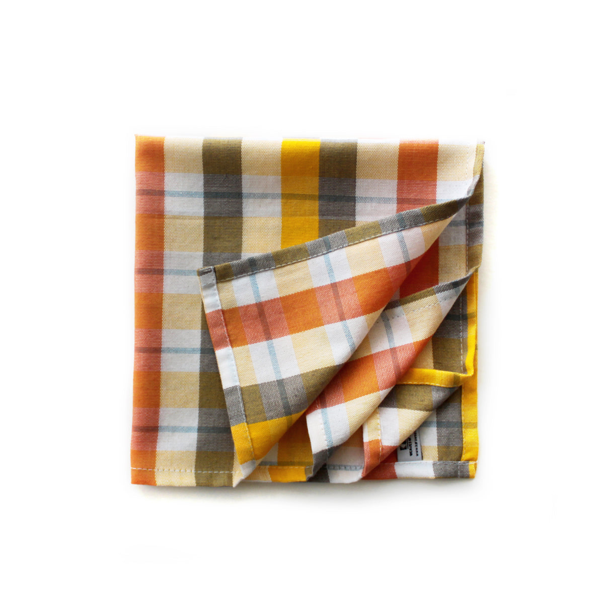 Mother's Day gift set of 4- madras check table napkins