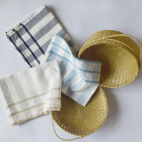 BORDER STRIPE KITCHEN TOWEL