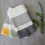 Bloc Stripe Kitchen Towels - Kara Weaves  - 2