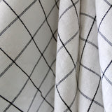 Monochrome Checks Kitchen Towel
