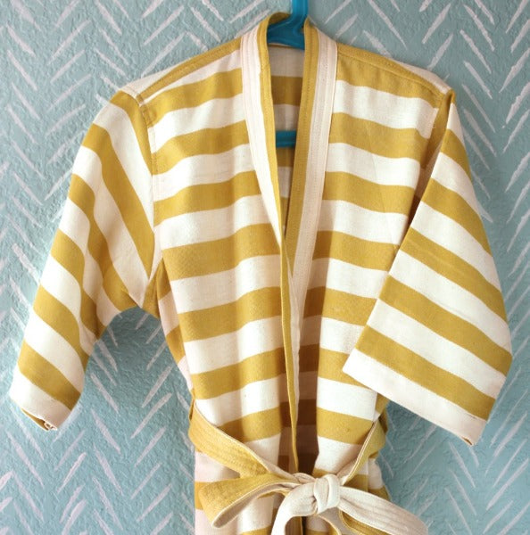 Earth Stripe Kids Robe