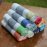 Bloc Stripe Kitchen Towels - Kara Weaves  - 1