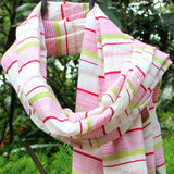 Multicolor DipDye Scarf - Kara Weaves  - 2