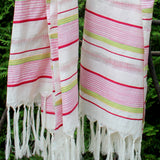 Multicolor DipDye Scarf - Kara Weaves  - 3