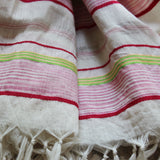 Multicolor DipDye Scarf - Kara Weaves  - 4