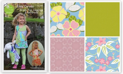 Easy Curves Pattern by Olive Ann Designs