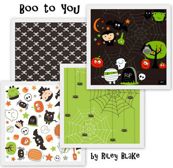 Boo to you by Riley Blake