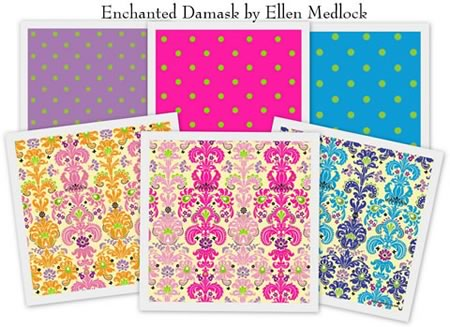Enchanted Damask