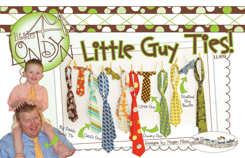 Little Guy Ties Sewing Pattern at Fashionable Fabrics